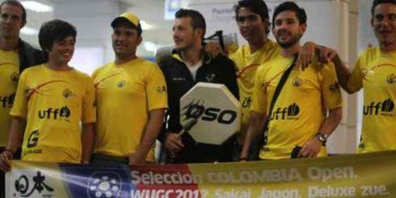 Selección Colombia de Ultimate Rumbo a Japon. Vamos :D