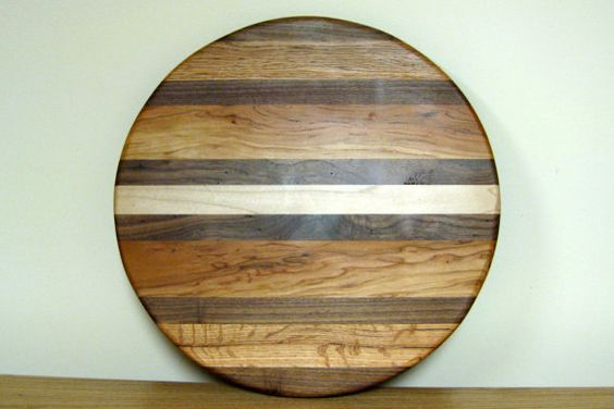 Hand crafted lazy susan