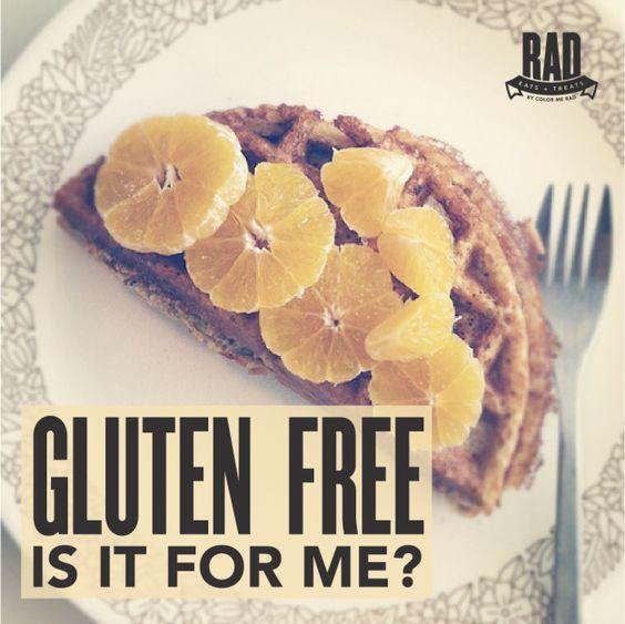 Gluten Free, is it for me?  #doradstuff #colormerad5k