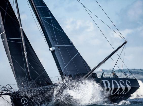 Alex Thompson unveils new Hugo Boss boat for Vendée Globe