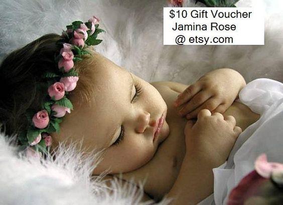 Gift voucher Value 10 dollars by JaminaRose on Etsy, £5.90