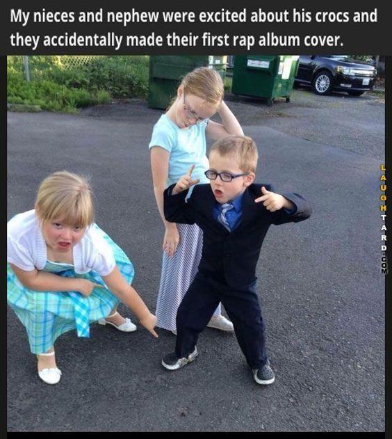 First rap album cover