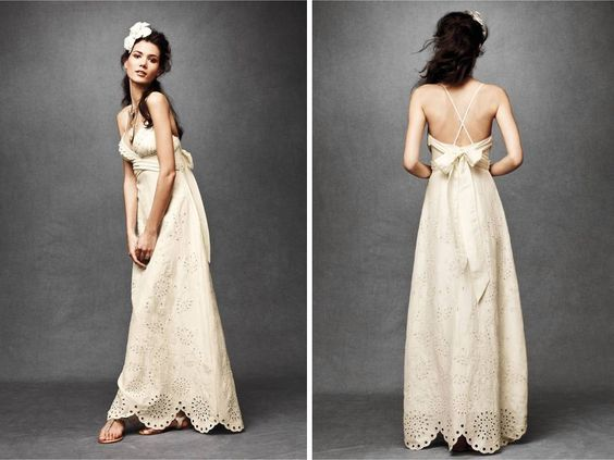 casual garden wedding dress  Wedding  Pinterest  Gardens Lace ...