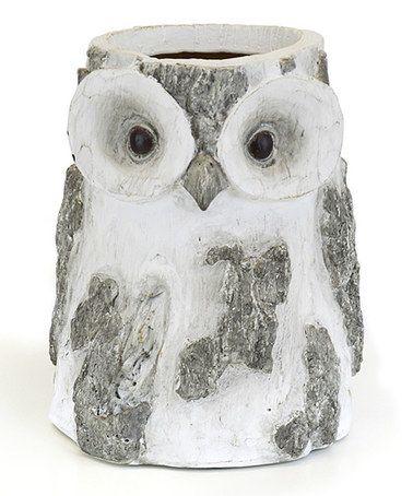 Look at this #zulilyfind! Owl Vase #zulilyfinds