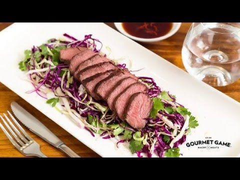 Cook The Perfect Kangaroo Fillet Youtube Kangaroo Recipe Recipes Cooking