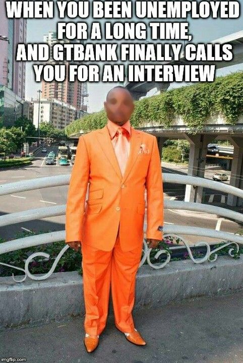 When Gtbank Finally Calls You For An Interview (photo) - Jokes Etc - Nigeria