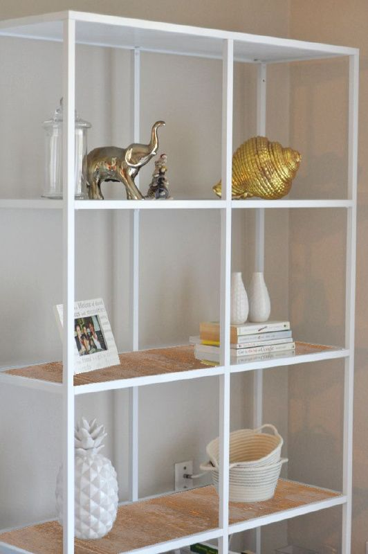 Shelves rust and i want on pinterest for Ikea draget