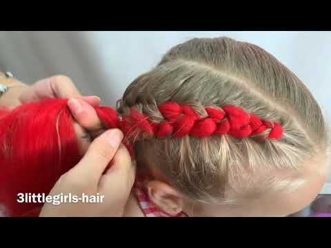 Dutch Braids With Extensions X Youtube Braids With Extensions Hair Extensions Tutorial Colored Hair Extensions