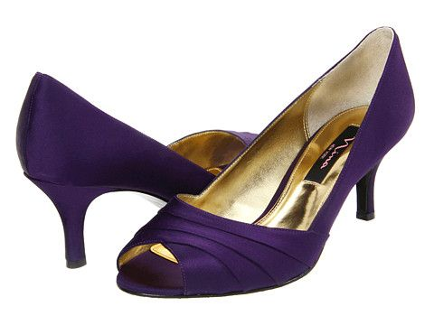 17 Best images about Shoes on Pinterest | Satin, Purple satin and ...
