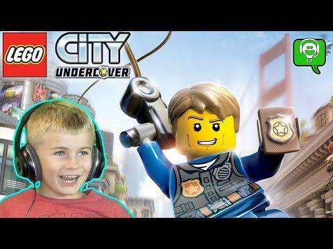 Lego City Undercover By Hobbykidsgaming Youtube Lego City Undercover Lego City Undercover