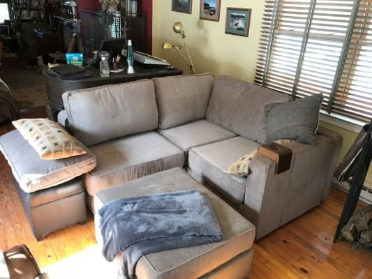 Wrap Around Modular Sectional Couch Living Room Furniture Layout