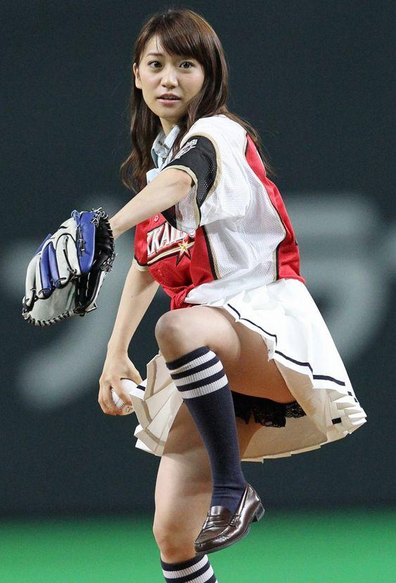 始球式の大島優子