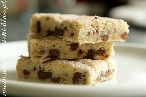 Szybkie Chocolate chip shortbread