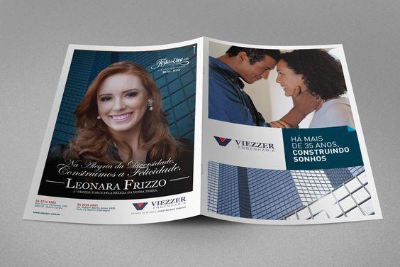 Folder institucional Viezzer Engenharia.