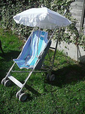 Vintage-Retro-Maclaren-2-position-lie-back-buggy-pushchair