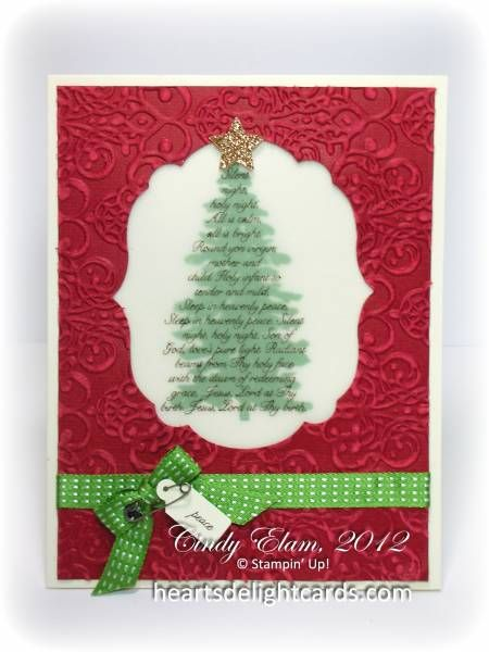 Christmas in July by Cards4Ever - Cards and Paper Crafts at Splitcoaststampers