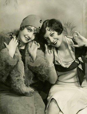 Joan Crawford and Anita Page, 1928