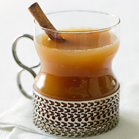 Warm up after a cool day with this sensational Spiced Apple Cider. More cider recipes:  http://www.bhg.com/recipes/drinks/fruit/cider-recipes/?socsrc=bhgpin101513spicedapplecider&page=12