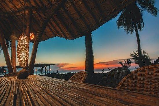 Gambar Pemandangan Romantis Dilengkapi Dengan Hotel Berbintang Mice Restaurant Cafe Waterpark Sport Center Cinema Fam Pemandangan Dekorasi Luar Ruangan Gambar