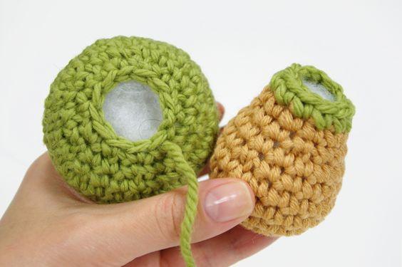 Amigurumi tutorial, Stitches and Mattress on Pinterest