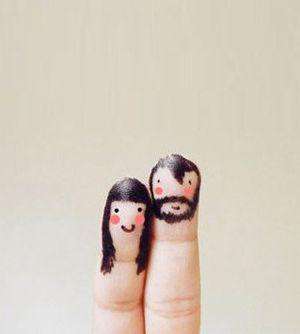 nuestras manos! nuestros dedos!