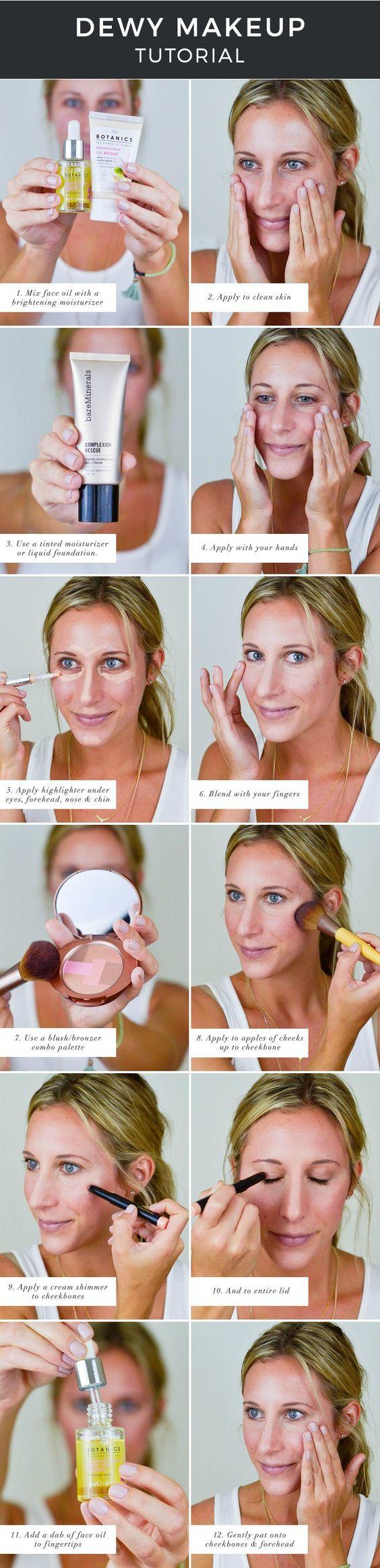 How to get that dewy makeup look with @Walgreens! #WalgreensBeauty, makeup tutorial, beauty
