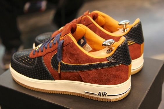 reputable site b4dc4 a334f ... authentic nike air force 1 bespoke creations forced up. my shoe game  sick pinterest 4c84a