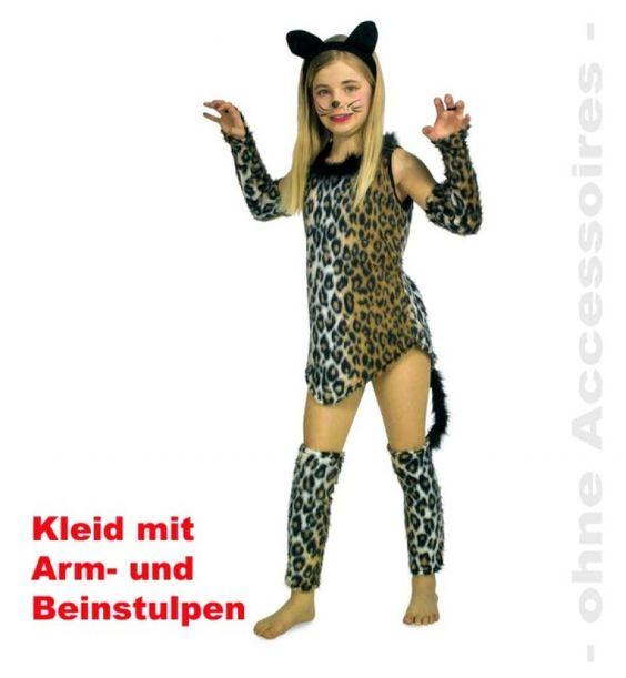Katzenkostüm Kinder Katze Leopard Leopardenkostüm Miezekatze