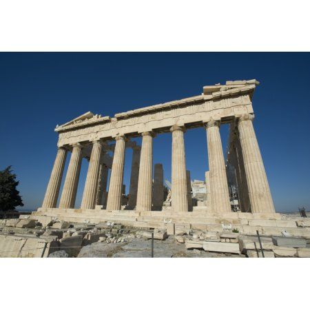 ParthenonAthens greece Canvas Art - Daniel Alexander Design Pics (19 x 12)