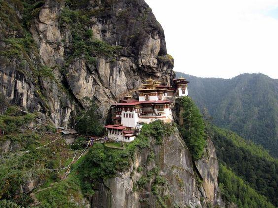 Taktsang Palphug en Buthan