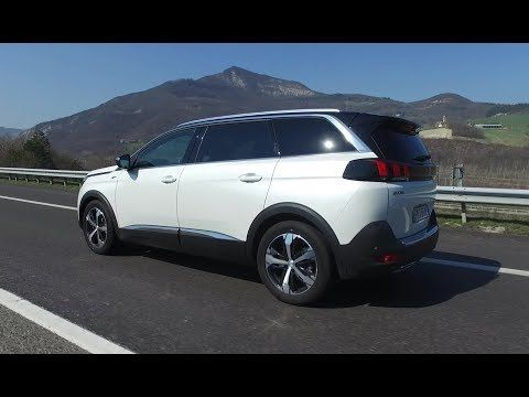 2019 Peugeot 5008 Gt Interior Exterior And Drive Youtube Peugeot Seven Seater Suv Suv
