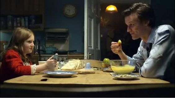 Five years ago today the Doctor discovered his new favorite snack! #DoctorWho