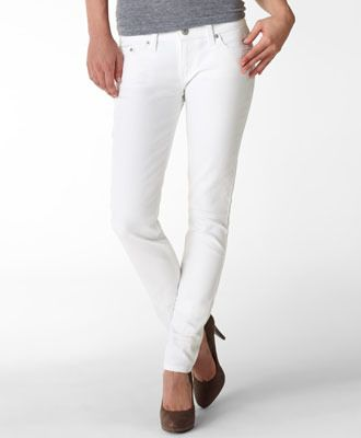 Casual Pant #3: White jeans