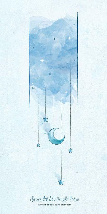 水彩代表我的心-Nabhan 插画作品欣...