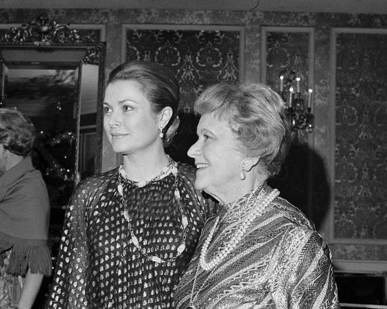 Grace and her mother.