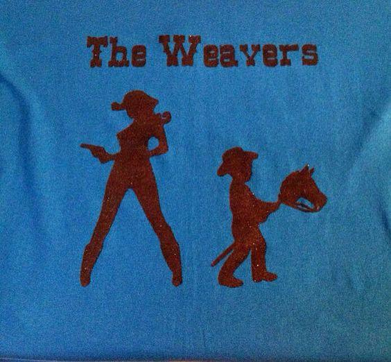Personalized Western family shirt by TheKraftyMommy on Etsy, $15.00