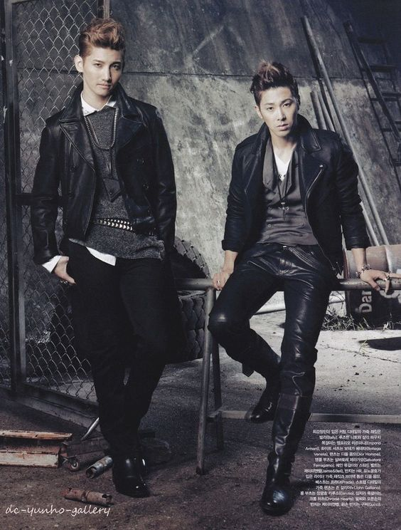 Come visit the biggest KPOP Fashion store in the world @ kpopcity.net !! Changmin and Yunho  DBSK / TVQX