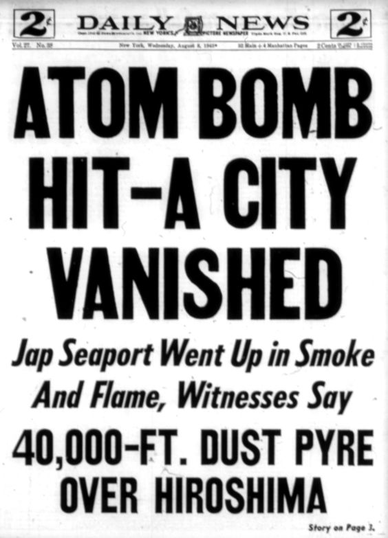"""an essay on hiroshima and the atomic bomb President truman's decision to use atomic bombs against japan is  up in paul  fussell's famous essay, """"thank god for the atomic bomb."""