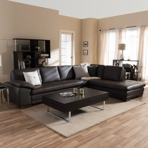Sofa góc nhập khẩu - sản phẩm tuyệt vời nên mua cho phòng khách gia đình