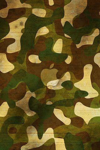 Green Camo Wallpaper
