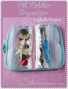 pot holder organizer tutorial, crafts, how to, organizing
