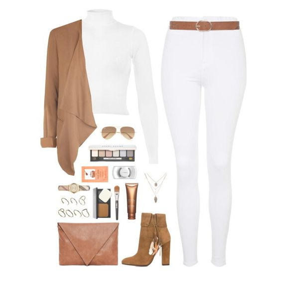 """""""Shopping n James house Monday"""" by sashaboo25-2ndaccount ❤ liked on Polyvore featuring Topshop, Miss Selfridge, Aquazzura, New Look, Pull&Bear, M&Co, ASOS, Burberry, Bobbi Brown Cosmetics and Forever 21"""