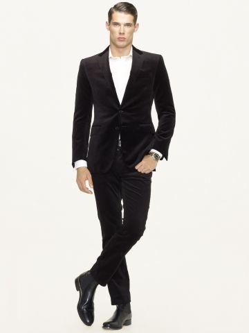 Anthony Velvet Sport Coat - Black Label Sport Coats - RalphLauren