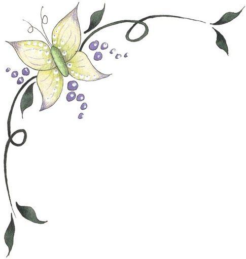 Bordes para decorar hojas - Imagenes y dibujos para imprimirTodo en imagenes y dibujos:
