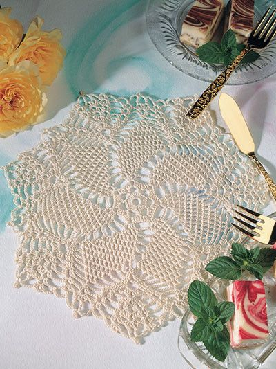 Peacock Doily: Free pattern for those that 'sign up.' I'm a brat, so I won't but I am confident in my ability to do this on my own, but with better colors. :P: