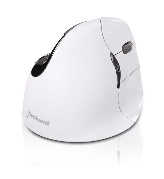 VMOUS4RBTHY - The white Evoluent VeritcalMouse 4 is compatible with #Apple #MACs and #Macbooks. With a stunning white ergonomic design, the VerticalMouse keeps your arm in a neutral upright position helping you to avoid #MSDs (Musculoskeletal diseases) such as #RSI. Visit www.hypertec.co.uk for more.