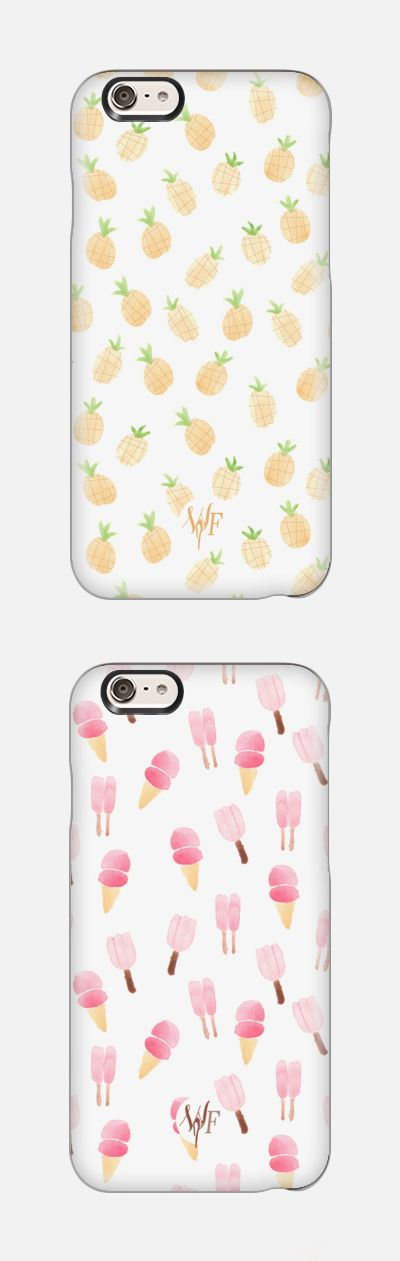 Pineapples & Ice Cream phone cases. Shop your design collection phone cases at casetify.com. Perfect birthday gift idea!