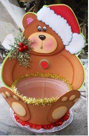 Christmas boxes boxes and navidad on pinterest - Adornos de navidad con material de desecho ...