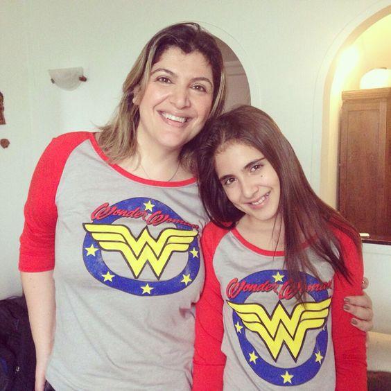 Figurino mãe e filha
