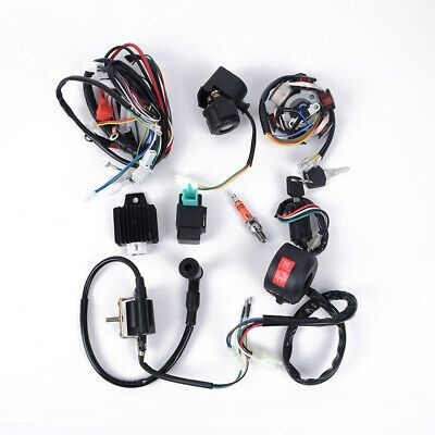 Ebay Advertisement Pole Engine Kit Ignition Replacement Atv Complete Wiring Stator 5 Pins In 2020 Atv Quads Atv Accessories Snow Chains
